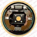Kit de freins à tambours arrière DELPHI LG16051