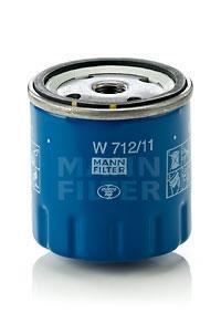 filtre huile mann filter w 712 11. Black Bedroom Furniture Sets. Home Design Ideas
