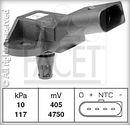 Sensor, presión colector de admisión FACET 10.3090