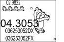 Catalizador MTS 04.3053