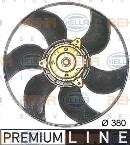 Ventilador, refrigeración del motor HELLA 8EW 009 158-501