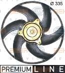 Ventilador, refrigeración del motor HELLA 8EW 351 043-511