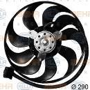 Ventilador, refrigeración del motor HELLA 8EW 351 043-571