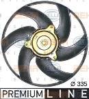 Ventilador, refrigeración del motor HELLA 8EW 351 043-641