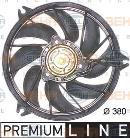 Ventilateur de refroidissement du moteur HELLA 8EW 351 043-791