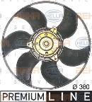 Ventilateur de refroidissement du moteur HELLA 8EW 351 044-191