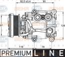 Compresor, aire acondicionado HELLA 8FK 351 113-311