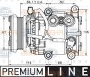 Compresor, aire acondicionado HELLA 8FK 351 113-401
