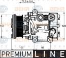 Compresor, aire acondicionado HELLA 8FK 351 113-421