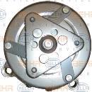 Compresor, aire acondicionado HELLA 8FK 351 127-391