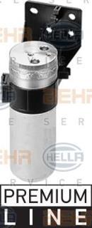 Filtre déshydrateur du circuit de climatisation HELLA 8FT 351 197-601