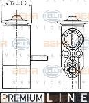 Válvula de expansión, aire acondicionado HELLA 8UW 351 239-021