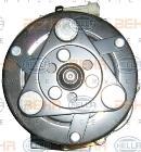 Compresor, aire acondicionado HELLA 8FK 351 316-401