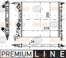 Radiateur moteur HELLA 8MK 376 720-021