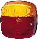 Glace diffuseur de feu arrière HELLA 9EL 146 491-001