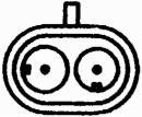Capteur de régime moteur HELLA 6PU 009 163-721