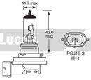 Ampoule, Phares antibrouillard LUCAS  LLB711P