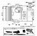Compresor, aire acondicionado NRF B.V. 32429G