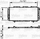 Radiateur moteur VALEO 731611