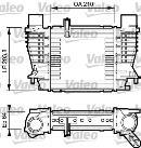 Intercooler, échangeur VALEO 817999