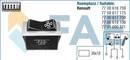 Régulateur du pulseur d'air habitacle, chauffage/ventilat° FAE 62510