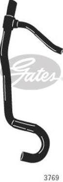 Durite de radiateur GATES 3769