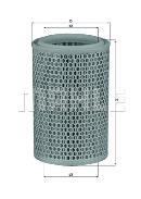 Filtro de aire KNECHT FILTER LX 660