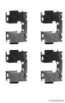 kit d 39 accessoires pour plaquette de frein disque toyota rav4 2 2 d 4d 4wd break. Black Bedroom Furniture Sets. Home Design Ideas