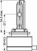 Bombilla de Xenon OSRAM 66140XNB