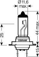 Ampoule, projecteur longue portée OSRAM 64210SV2-02B