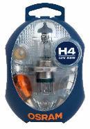 Coffret d'ampoules OSRAM CLKM H4