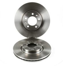 jeu de 2 disques de frein avant peugeot 607 2 2 hdi 16v 136cv. Black Bedroom Furniture Sets. Home Design Ideas