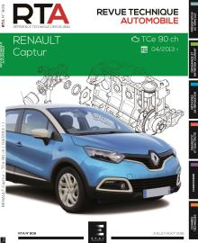 revue technique auto renault captur. Black Bedroom Furniture Sets. Home Design Ideas