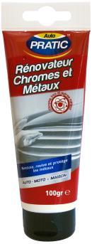 Renovador de cromo y metales Auto Pratic CHR100
