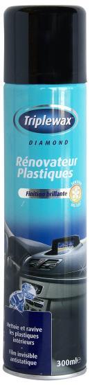 Nettoyant Plastiques Triplewax WPV300