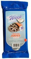 Lingettes Carrosserie et Jantes Weep WPNJ