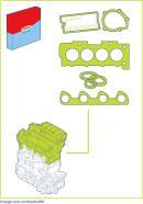Pochette de joints haut moteur CORTECO 417858P