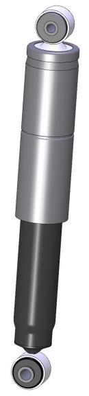 Juego de 2 amortiguadores traseros RECORD  004526